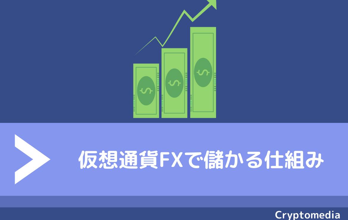 仮想通貨FX 儲かる仕組み