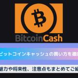 bitcoincash 買い方