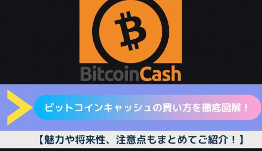 ビットコインキャッシュ(BCH)の買い方・購入方法を徹底図解!【魅力や将来性、注意点もまとめてご紹介!】