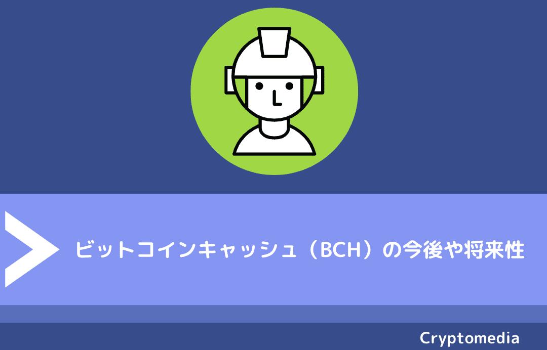 ビットコインキャッシュ(BCH)の今後や将来性