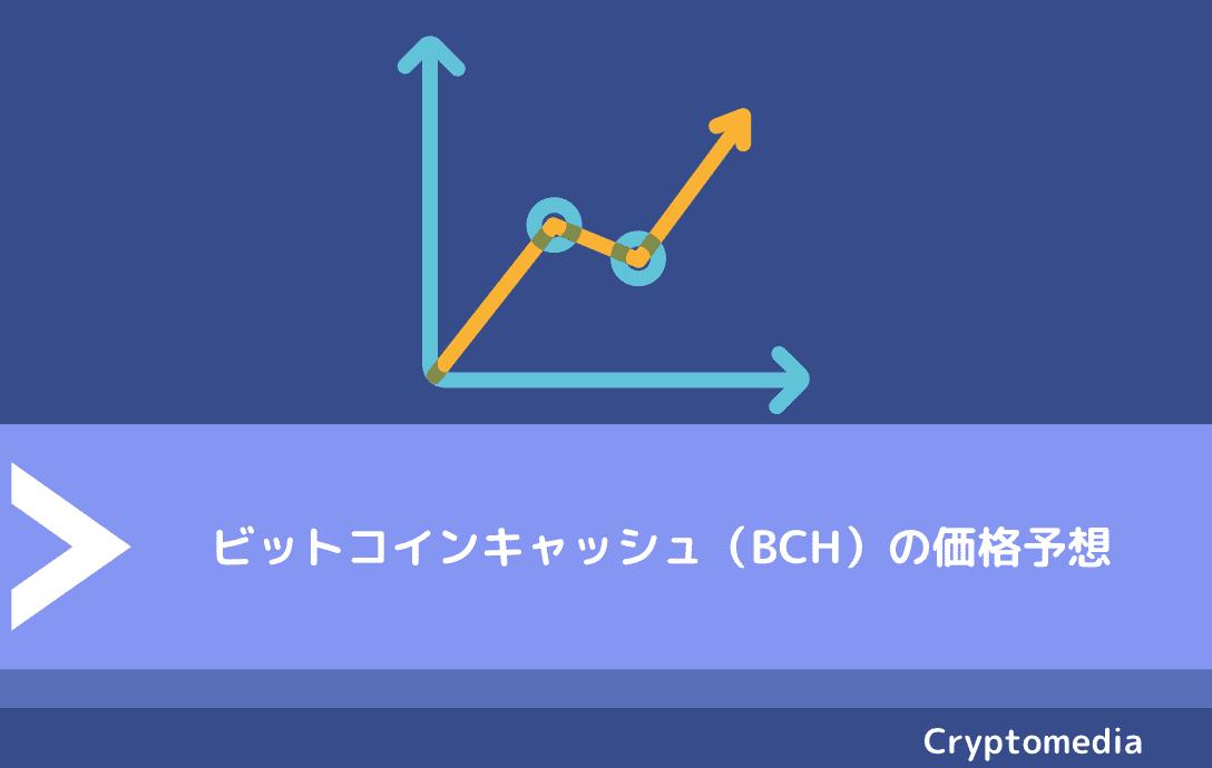 ビットコインキャッシュ(BCH)の価格予想