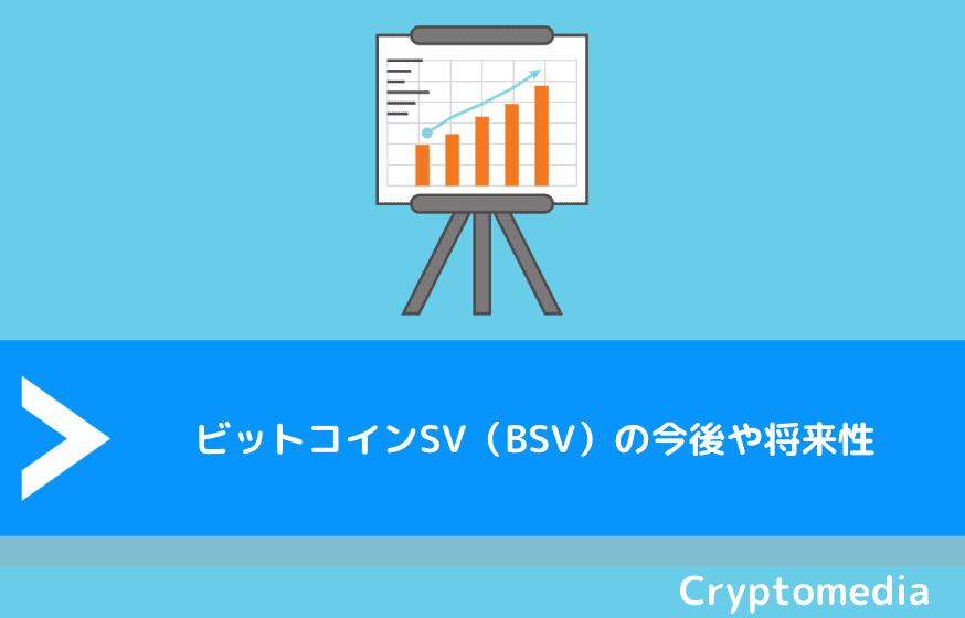 ビットコインSV(BSV)の今後や将来性