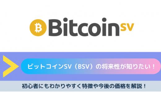 【2020年最新版】ビットコインSV(BSV)の将来性が知りたい!初心者にもわかりやすく特徴や今後の価格を解説!