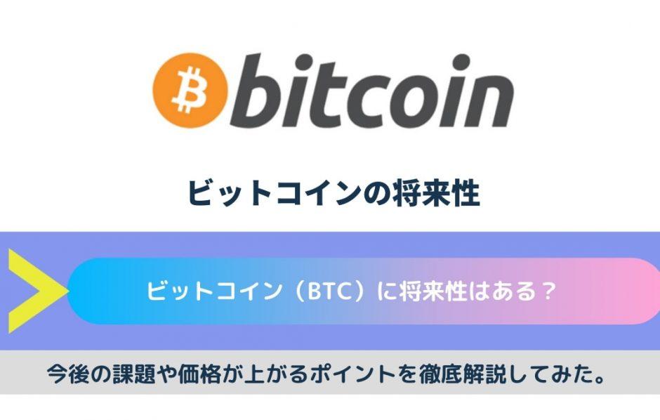 ビットコイン 将来性