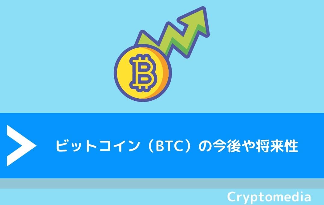 ビットコイン(BTC)の今後や将来性