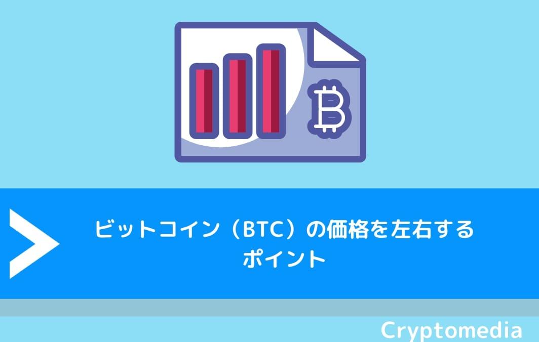 ビットコイン(BTC)の価格を左右するポイント