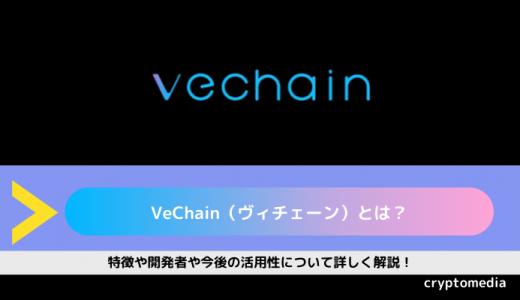 仮想通貨VeChain(ヴィチェーン)とは?|特徴や開発者や今後の活用性について詳しく解説!