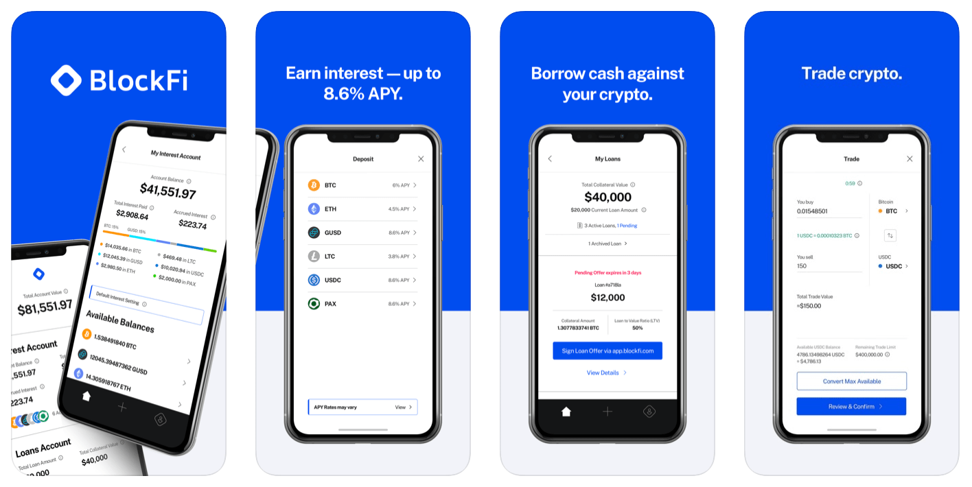 blockFI app