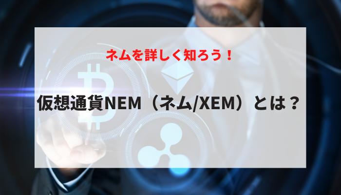 仮想通貨NEM(ネム/XEM)とは?